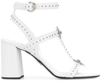 Prada stud detail sandals