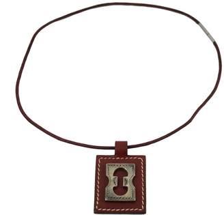 Hermes Leather pendant