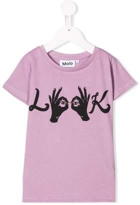 Molo look print T-shirt