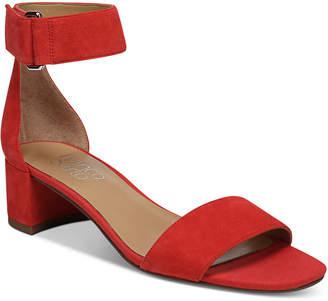 Franco Sarto Rosalina Two-Piece Block-Heel Dress Sandals Women's Shoes