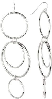 A.V. Max Mod Statement Circles Dangle Earrings