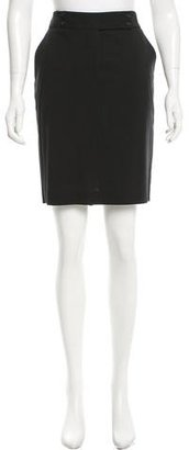 Paul Smith Knee-Length A-Line Skirt $70 thestylecure.com