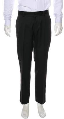 Versace Flat Front Twill Pants