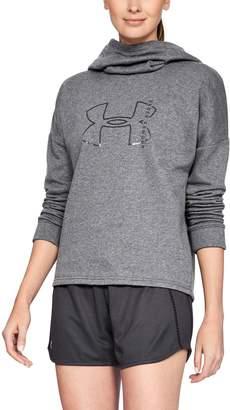 Under Armour Women's UA Rival Fleece Big Logo Hoodie