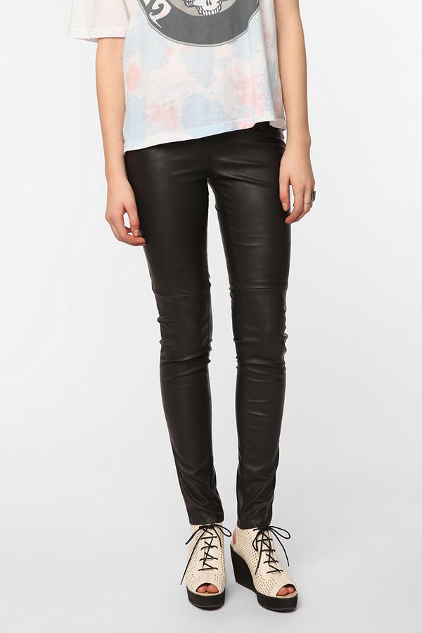 Emily D Vegan Leather Legging