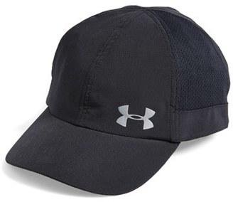 Women's Under Armour 'Fly Fast' Heatgear Baseball Cap - Black $24.99 thestylecure.com