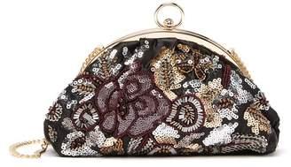 Jessica McClintock Jessica Floral Embellished Crossbody Bag
