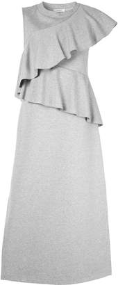 GOEN.J ruffle-trimmed midi dress