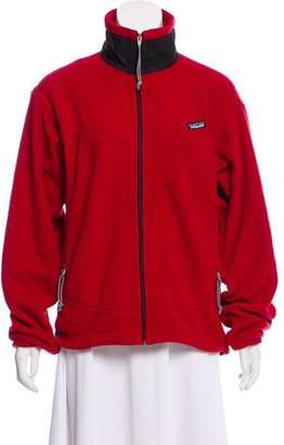 Patagonia Zip Accented Casual Jacket