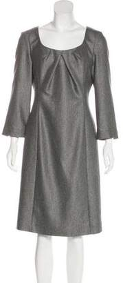 Armani Collezioni Wool Knee-Length Dress w/ Tags