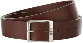 BOSS ORANGE Leather Buckle Belt