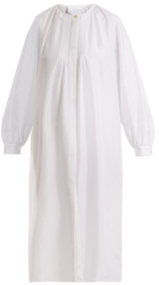 Loup Charmant - Corona Silk Shirtdress - Womens - White
