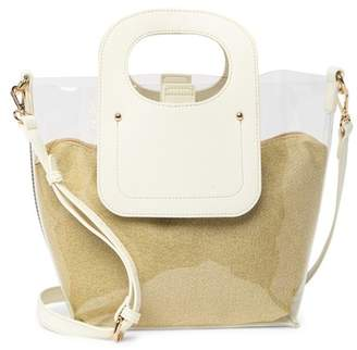 Urban Expressions Iridescent Clear Satchel