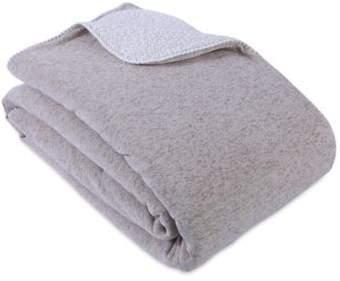Berkshire Blanket® Sweaterknit Reversible King Blanket in Brown