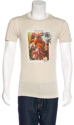 Dolce & Gabbana Sicilia Print T-Shirt w/ Tags