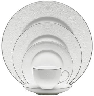 Wedgwood English Lace Bone China 5 Piece Place Setting, Service for 1