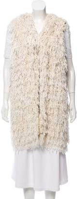 Isabel Marant Silk Sleeveless Cardigan