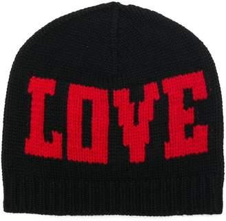 Dolce & Gabbana Love beanie hat