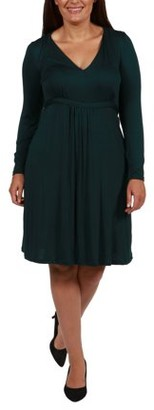 24/7 Comfort Apparel Julie Plus Size Dress