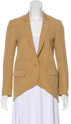 Jenni Kayne Silk Notched Lapel Blazer