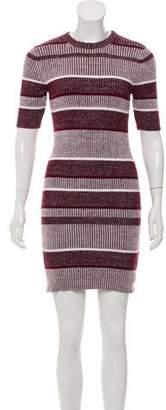 Alexander Wang Short Sleeve Sweater Dress