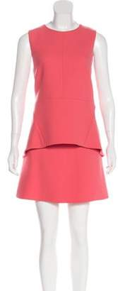 Marni Wool Skirt Set Coral Wool Skirt Set