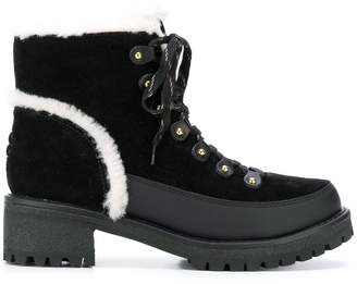 Tory Burch Cooper shearling bootie