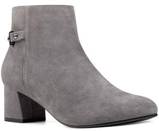 Bandolino Masie Leather Block Heel Bootie