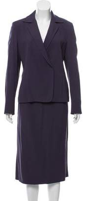 Max Mara Structured Skirt Suit