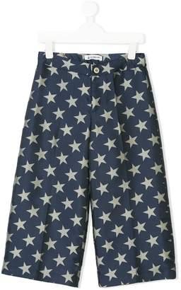 Dondup Kids star print trousers