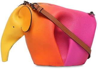 Loewe Mini Elephant Sprayed Leather Bag