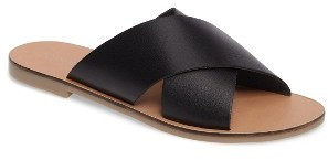 Women's Topshop Holiday Cross Strap Sandal $35 thestylecure.com