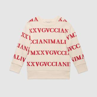Gucci Children's printed sweatshirt