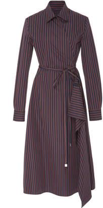 Rosetta Getty Belted Shirt Dress