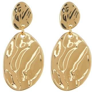 14th & Union Molten Double Drop Earrings