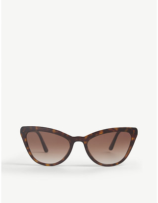 Prada Pr 01Vs cat-eye frame sunglasses