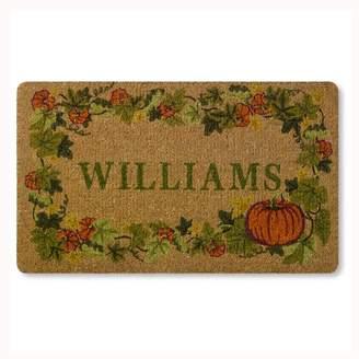 Williams-Sonoma Botanical Pumpkin Doormat