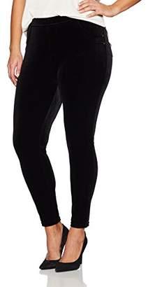 Calvin Klein Women's Plus Size Stretch Velvet Legging
