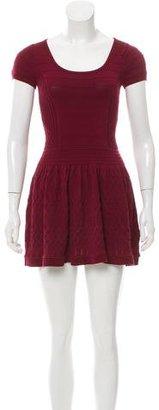 Sandro Knit Mini Dress $80 thestylecure.com