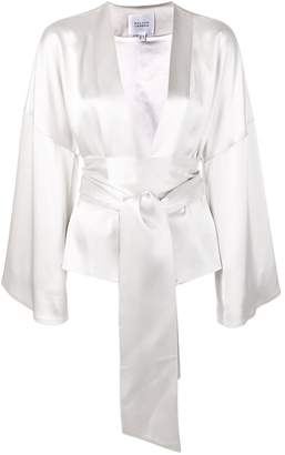 Galvan belted kimono