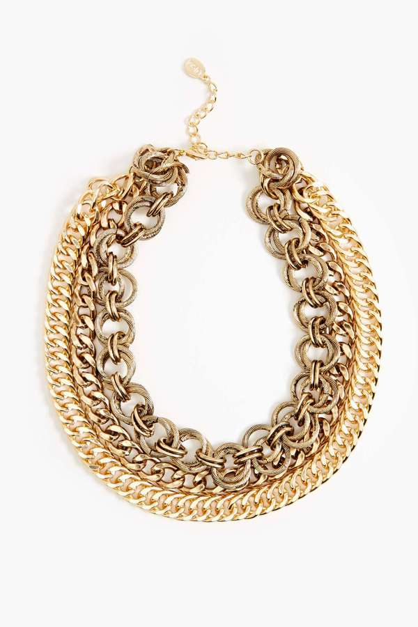 Nasty Gal Remix Chain Necklace