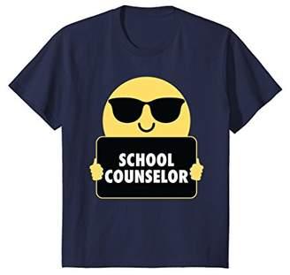 School Counselor Shirt Sunglasses T-Shirt Tee