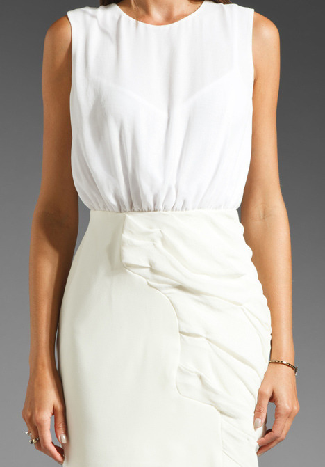 Camilla And Marc Eden Dress in Ivory
