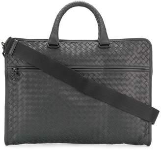 Bottega Veneta ardoise Intrecciato calf briefcase
