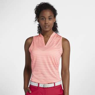 Nike Zonal Cooling Women's Sleeveless Golf Polo