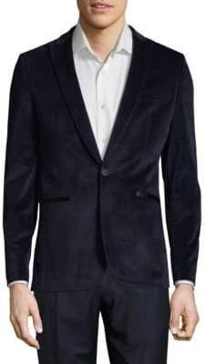 Calvin Klein Casual Velvet Jacket