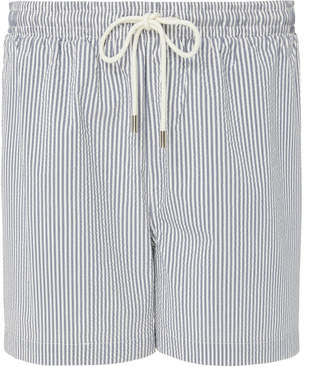 Solid & Striped The Classic Seersucker Swim Trunks