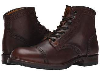 Frye Logan Brogue Cap Toe