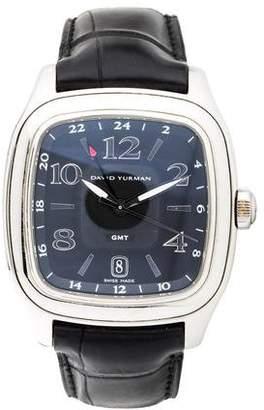 David Yurman Thoroughbred GMT Watch