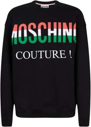 Moschino Tricolour Logo Sweatshirt